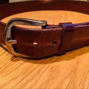 Vintage Calvin Klein Jeans Leather Belt